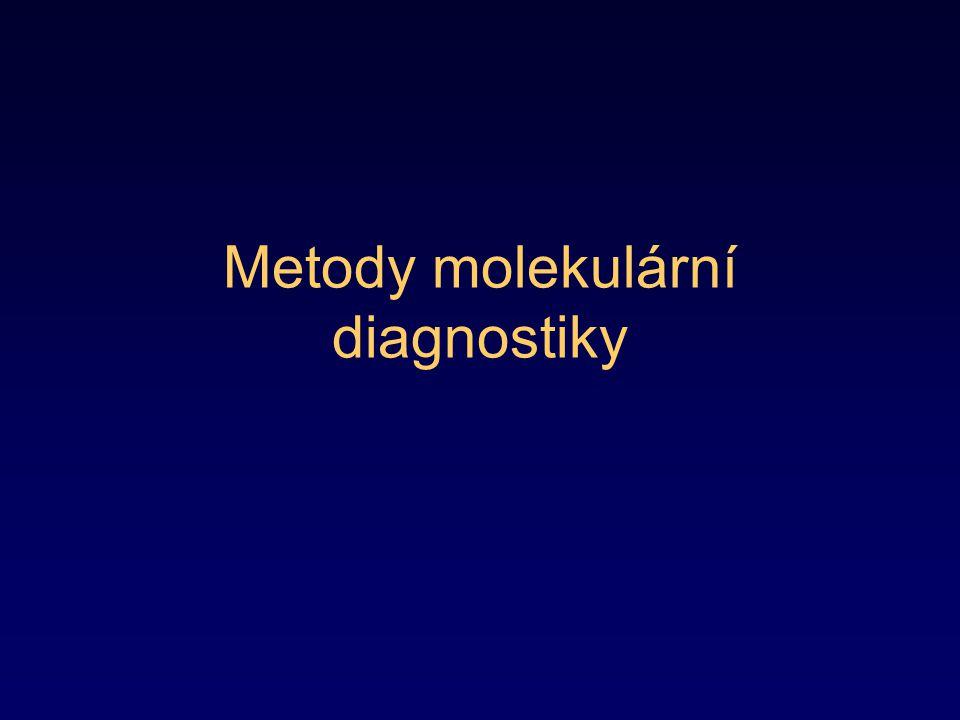 Metody molekulární diagnostiky