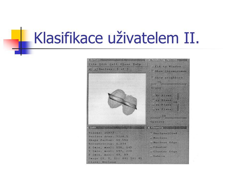 Klasifikace uživatelem II.