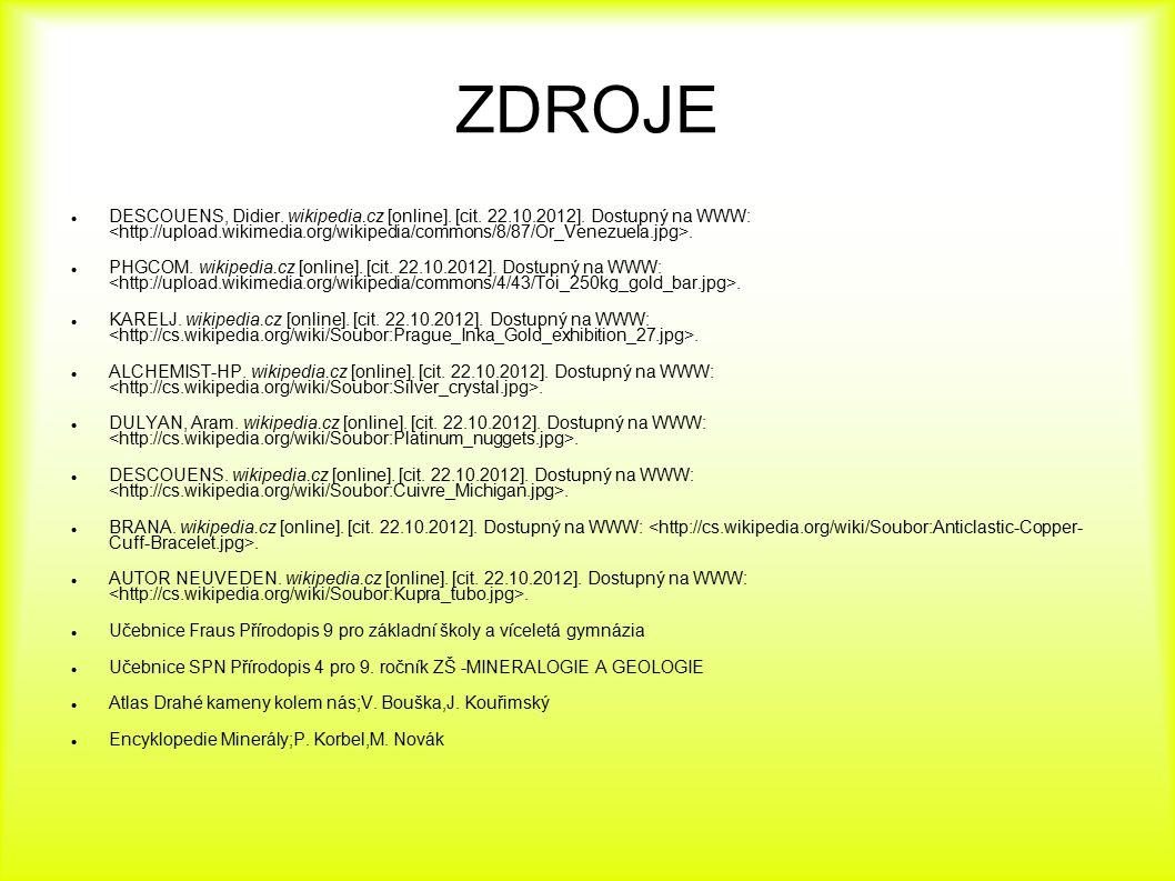 ZDROJE DESCOUENS, Didier. wikipedia.cz [online]. [cit. 22.10.2012]. Dostupný na WWW:. PHGCOM. wikipedia.cz [online]. [cit. 22.10.2012]. Dostupný na WW