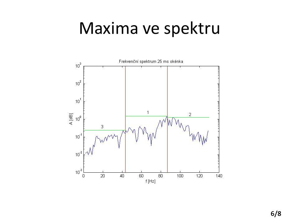 Maxima ve spektru 6/8