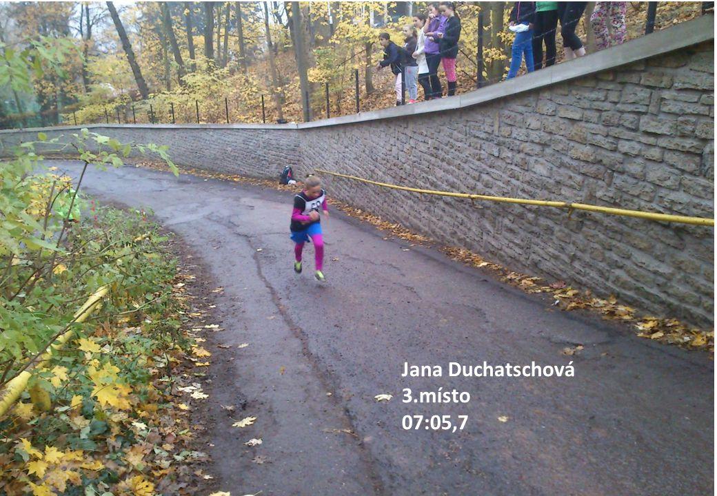 Jana Duchatschová 3.místo 07:05,7