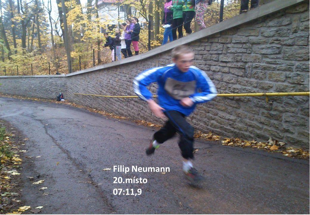 Filip Neumann 20.místo 07:11,9
