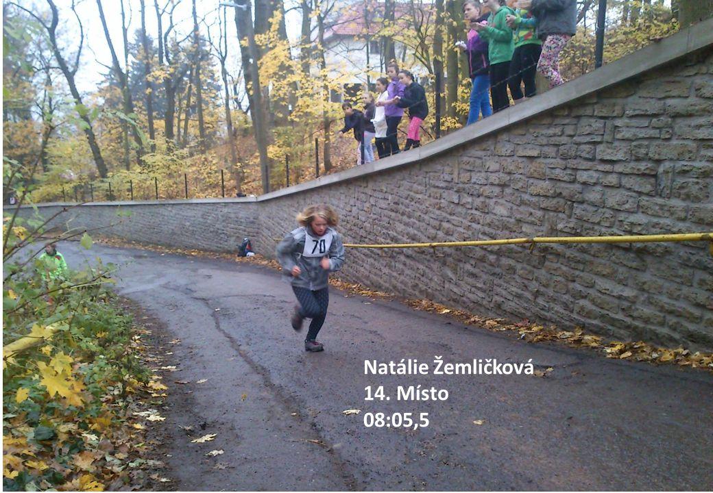 Natálie Žemličková 14. Místo 08:05,5