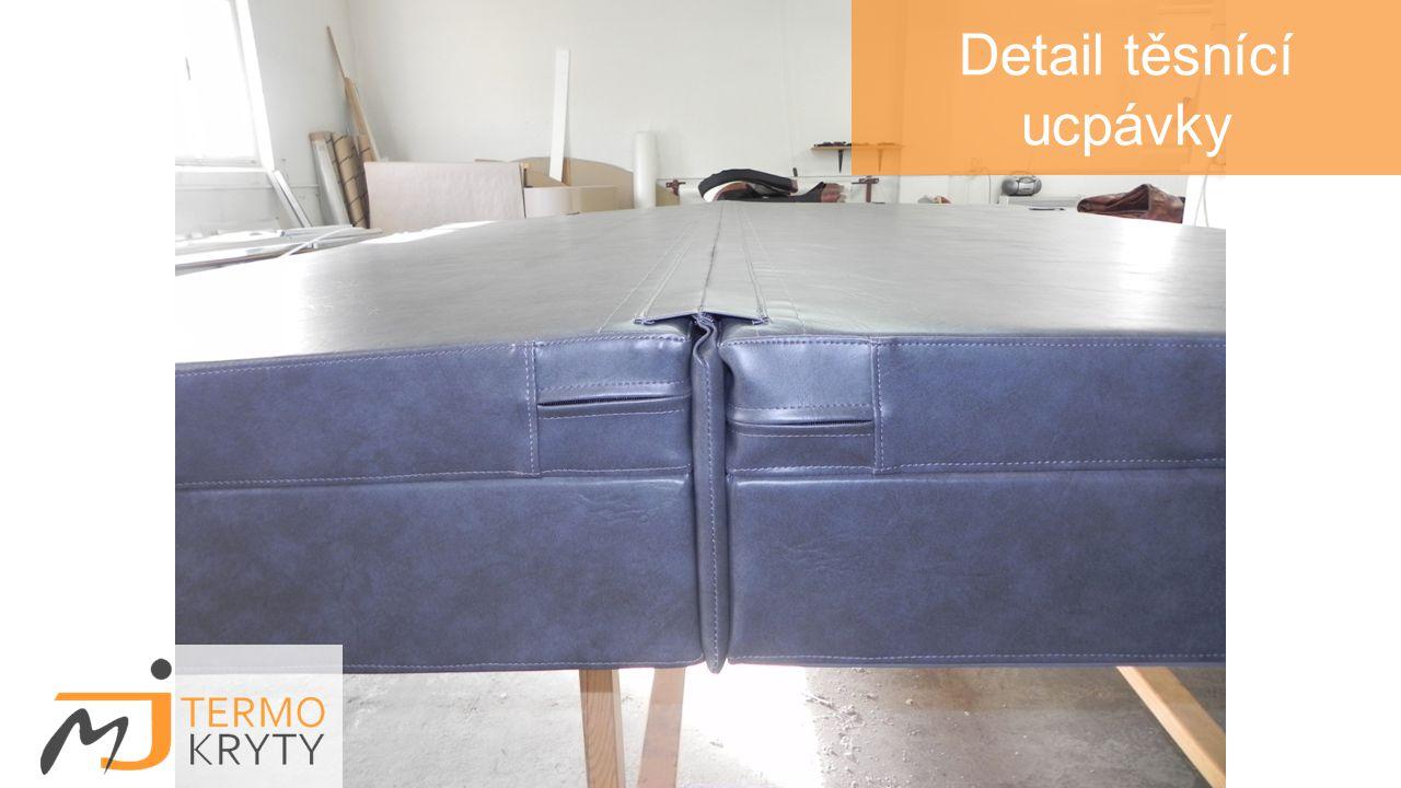 Detail: výřez pro ovládací panel