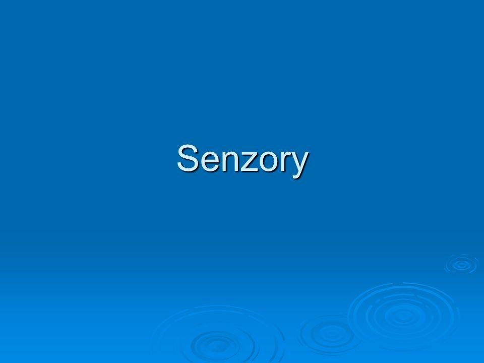 Senzory