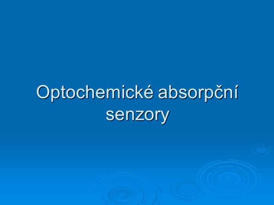 Optochemické absorpční senzory
