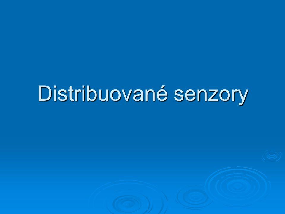 Distribuované senzory