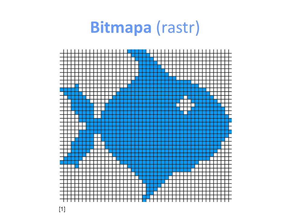 Bitmapa (rastr) ve vektorové grafice