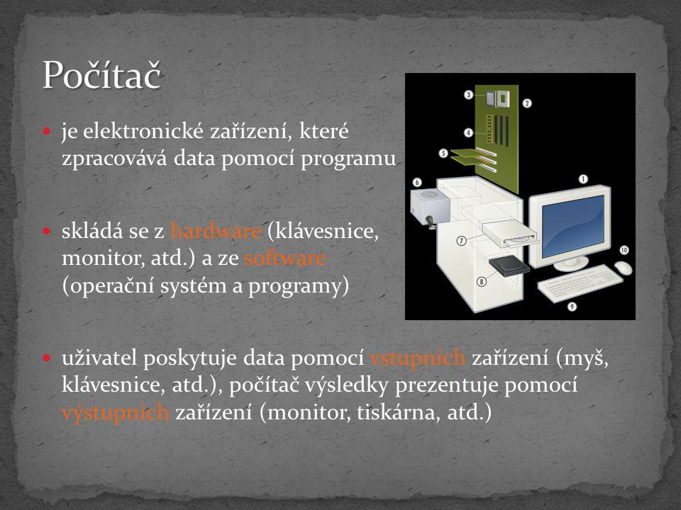 zobrazení obrazu na monitoru p řipojena přes PCI-Express, PCI výrobce př: ATi řada karet Radeon nVidia řada karet GeForce může být i integrována na ZD - IGP (integrovaný grafický čip)