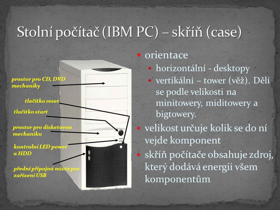 Dle principu tisku jehličkové inkoustové laserová