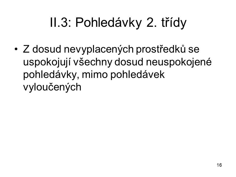 16 II.3: Pohledávky 2.