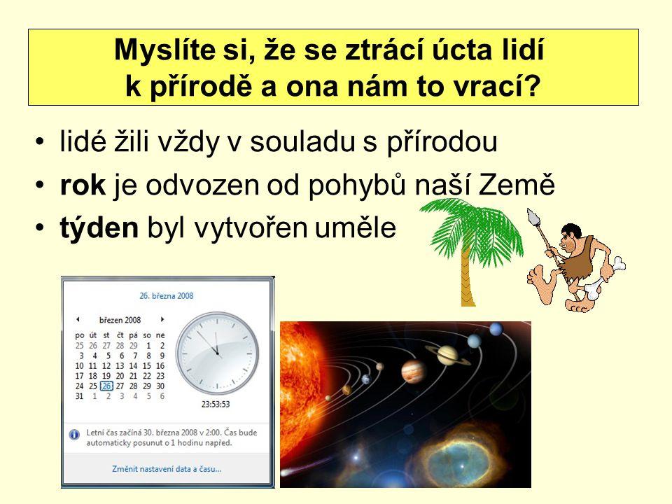 ROK doba, za kterou se Země otočí kolem Slunce (365 dnů, 6 hod, 9 min, 9,54 s) ROČNÍ OBDOBÍ závisí na směru úhlu, v jakém dopadají na Zemi sluneční paprsky