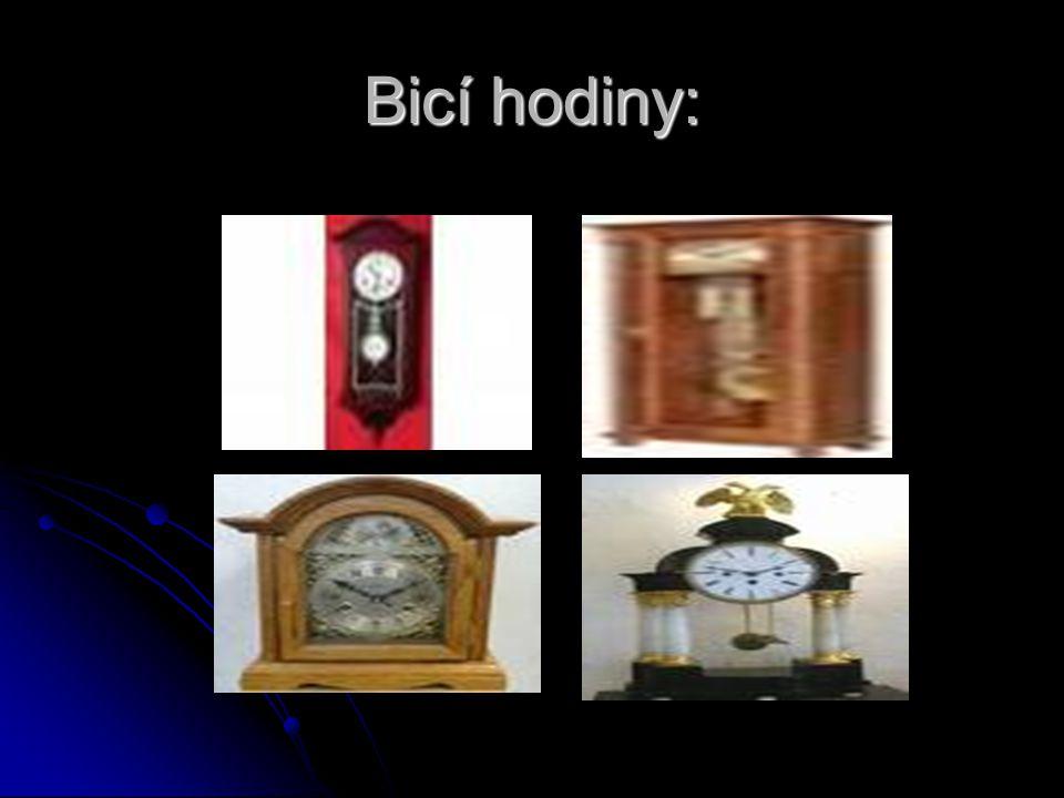 Bicí hodiny: