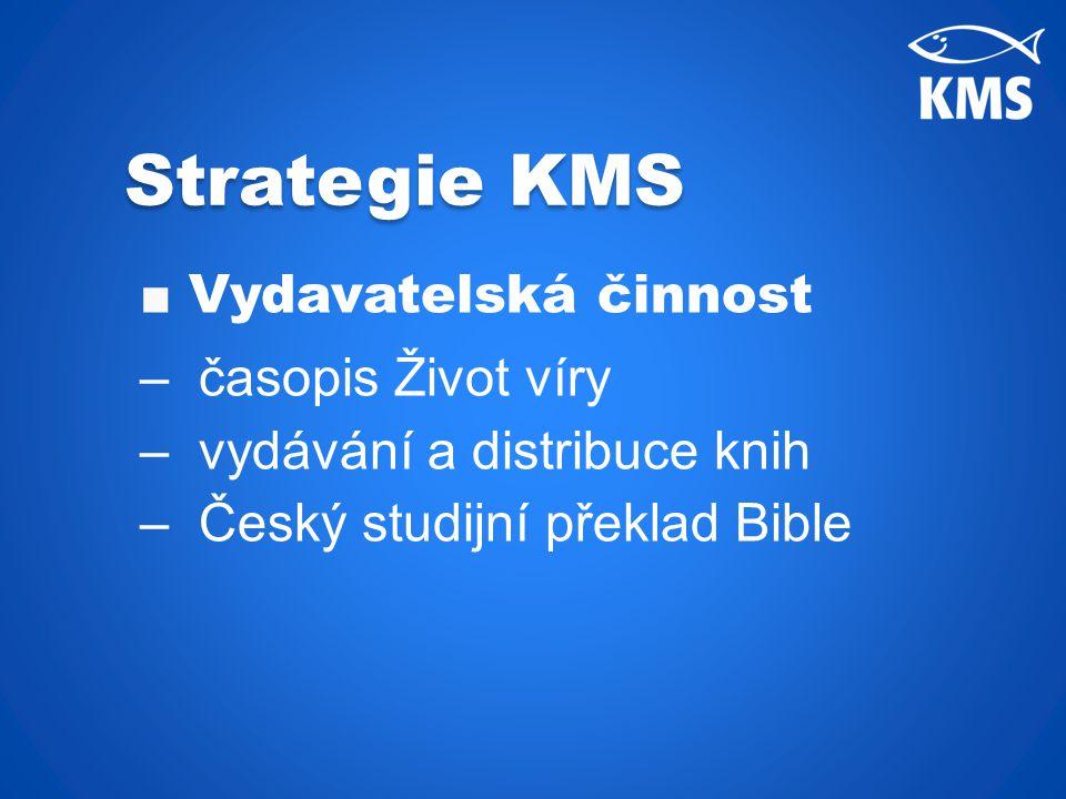 ■ Vydavatelská činnost – časopis Život víry – vydávání a distribuce knih – Český studijní překlad Bible