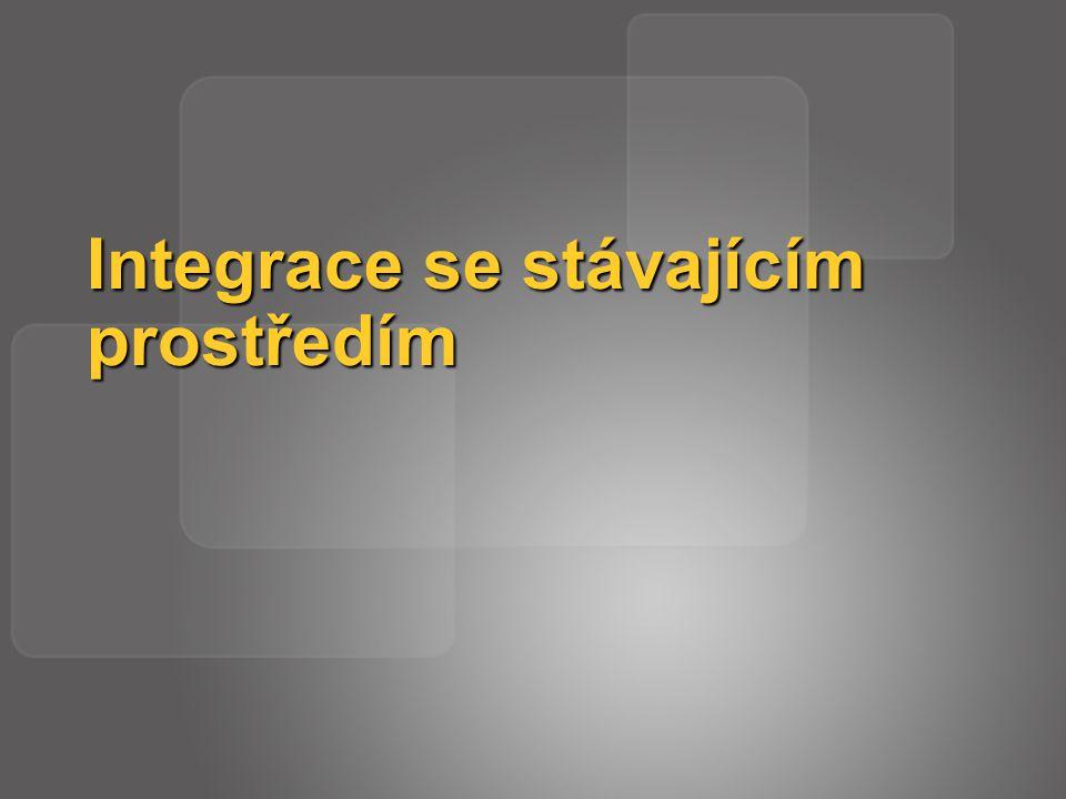 Integrace se stávajícím prostředím