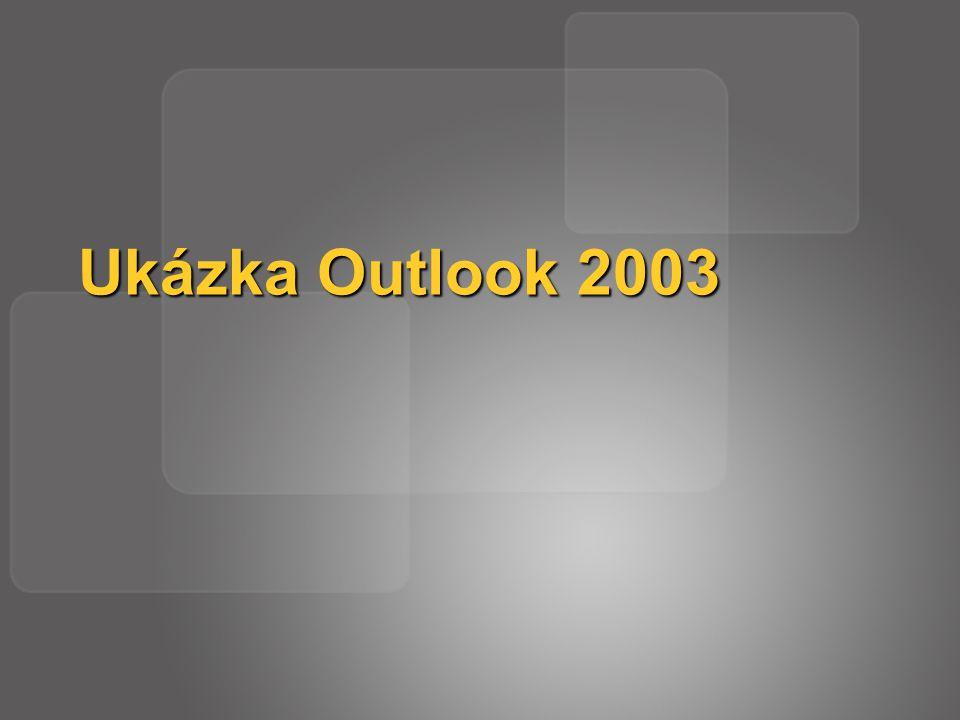 Ukázka Outlook 2003