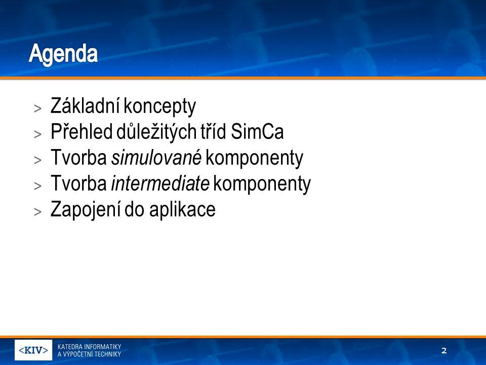 > Základní koncepty > Přehled důležitých tříd SimCa > Tvorba simulované komponenty > Tvorba intermediate komponenty > Zapojení do aplikace 2