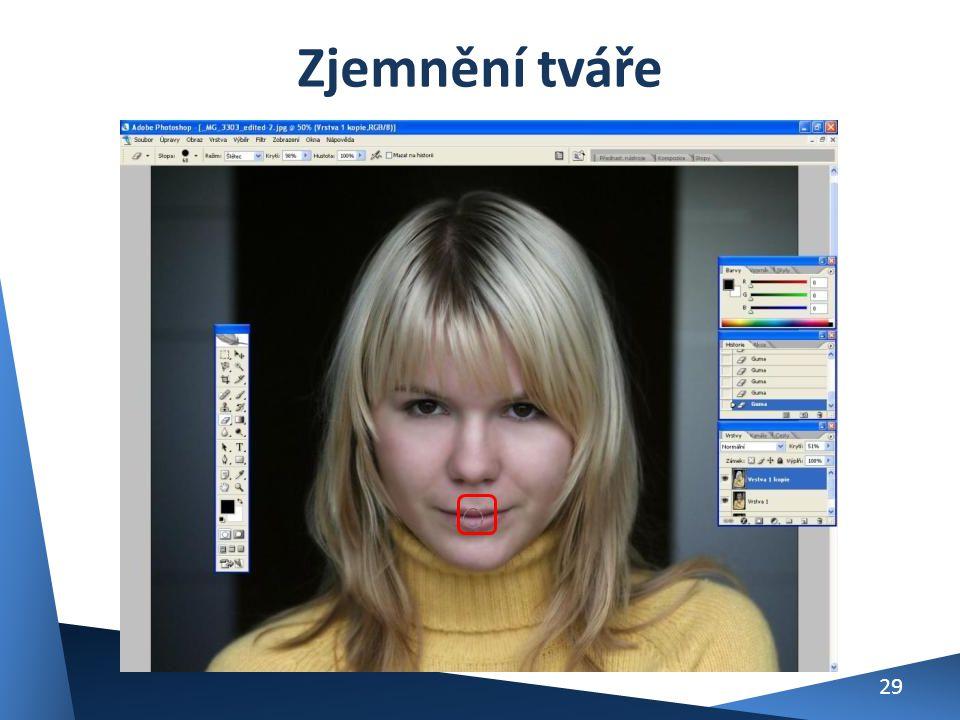 Zjemnění tváře 29