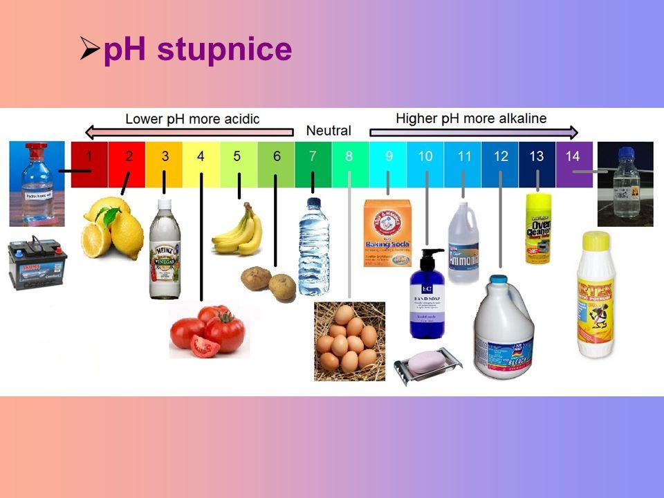  pH stupnice