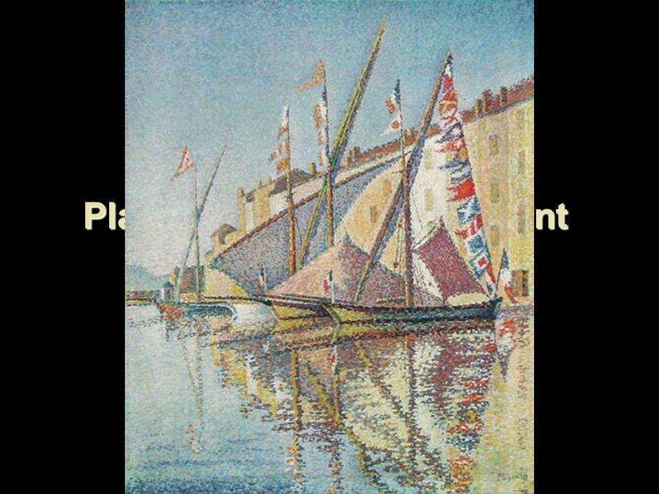 Plachetnice v přístavu Saint Tropez