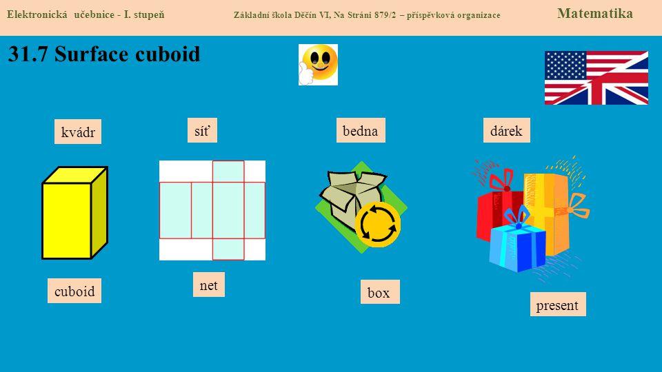 31.8 Test znalostí Správné odpovědi: 1.d 2.c 3.c 4.d Test na známku Elektronická učebnice - I.