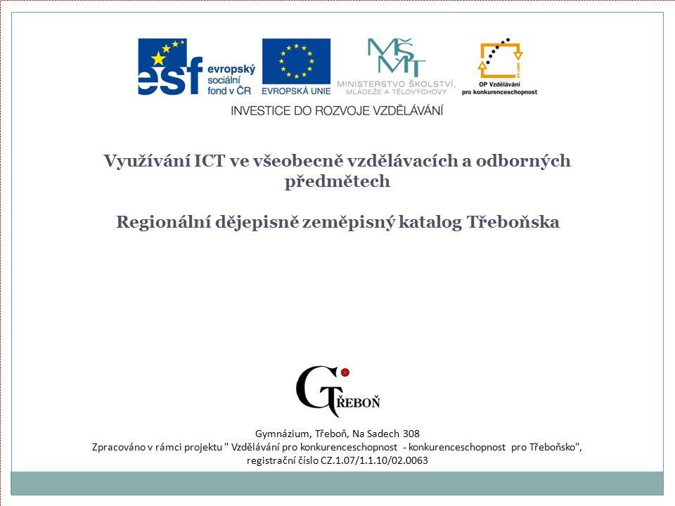Zdroje http://stromy.trebonsko.org/view.php?cisloclanku= 2009040028 (15:03, 19.3.2011) http://cs.wikipedia.org/wiki/T%C5%99ebo%C5%88 _(z%C3%A1mek)#Z.C3.A1meck.C3.BD_park (15:06, 19.3.2011) http://www.pruvodce.com/trebon/historie.php (15:14, 19.3.2011)