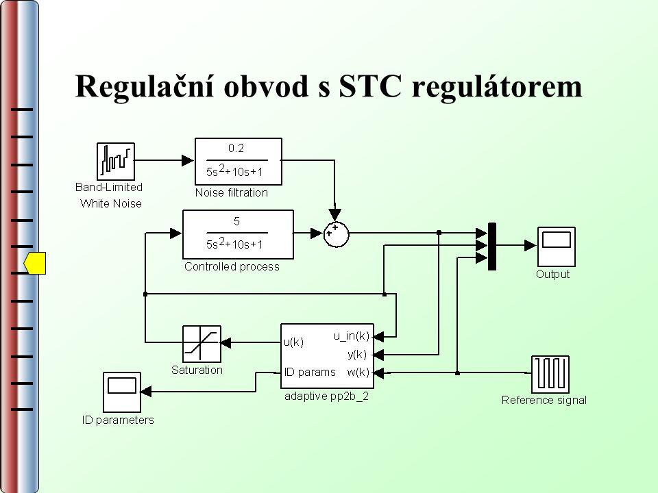 Regulační obvod s STC regulátorem