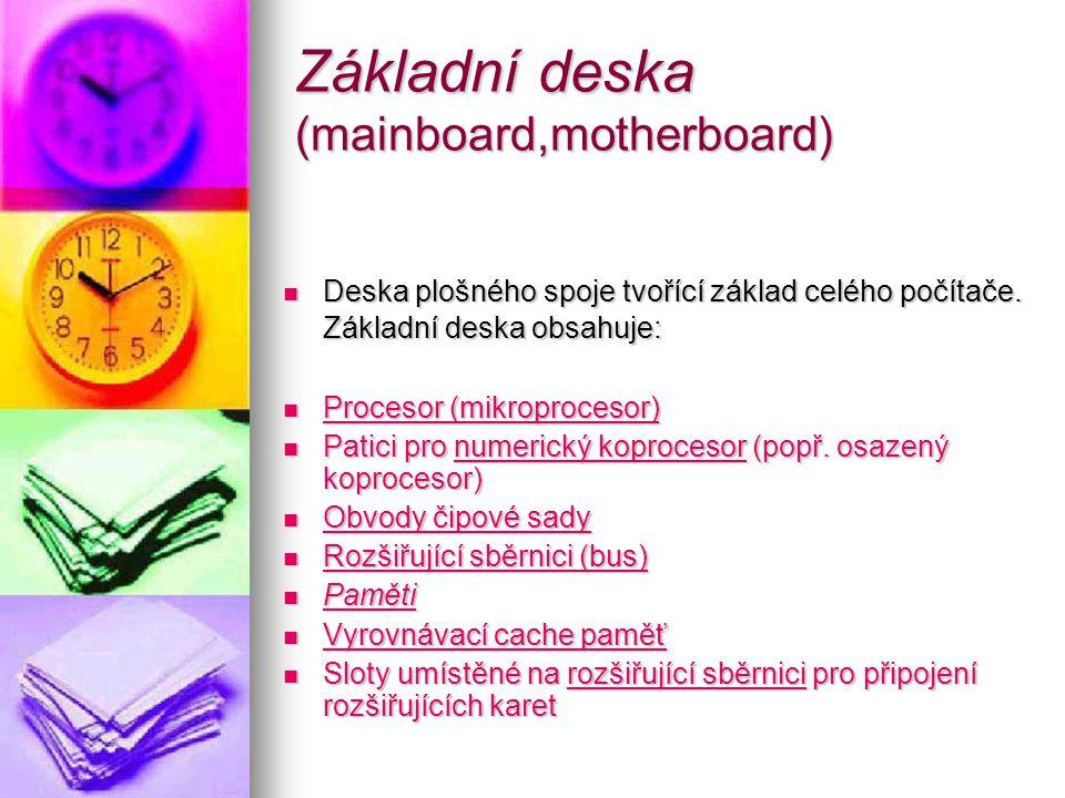 Mainboard Základní deska