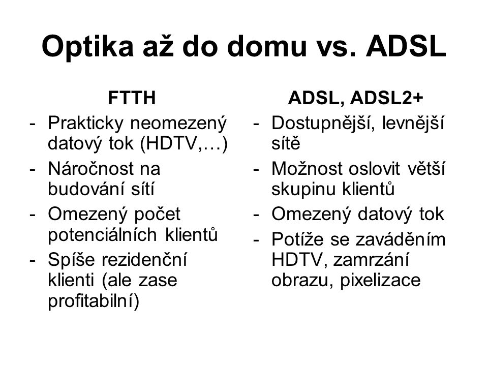 Optika až do domu vs.