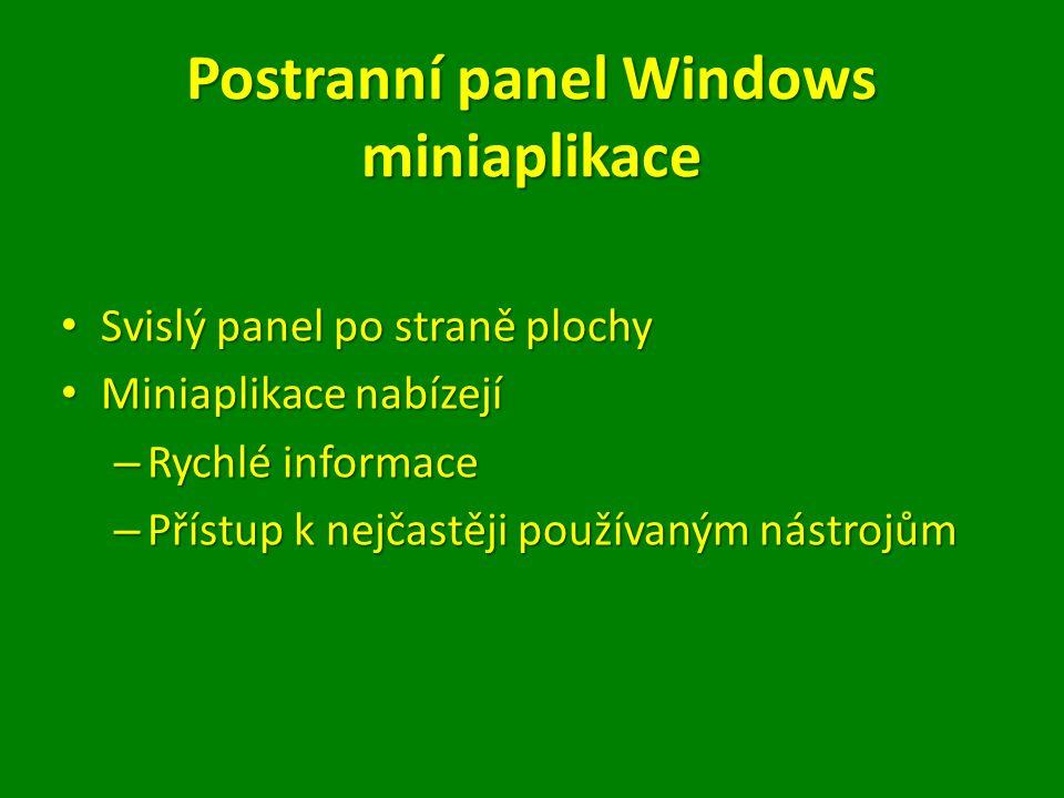 Postranní panel