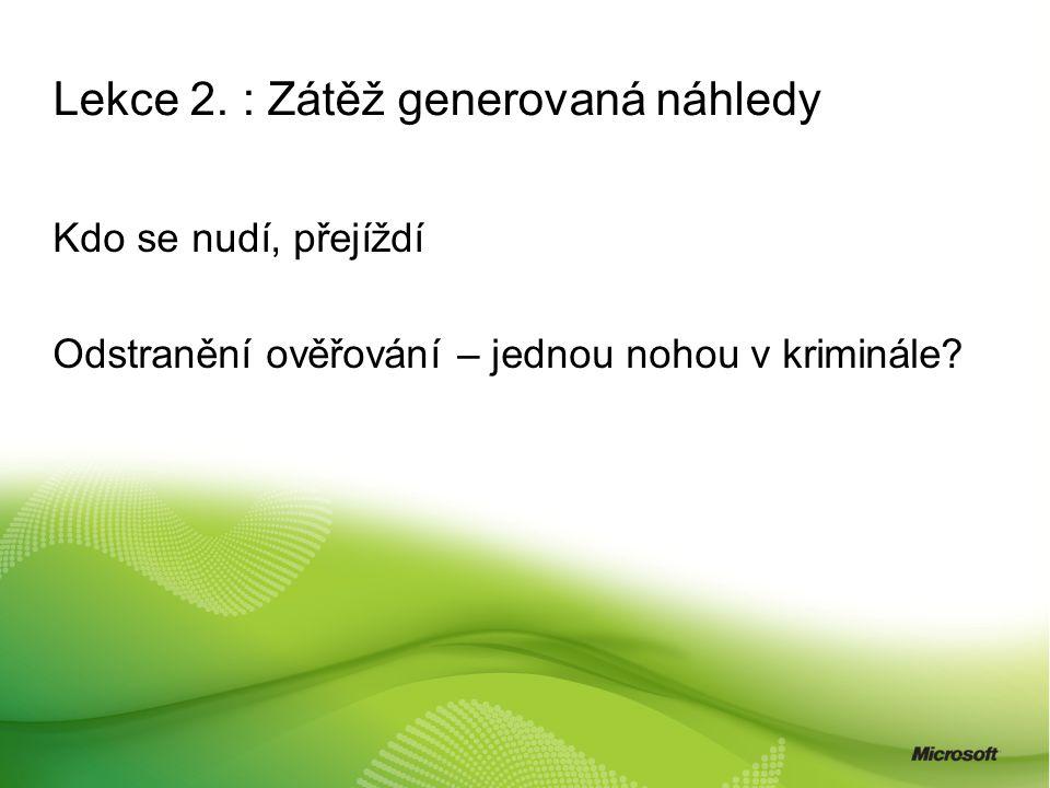 Lekce 2.