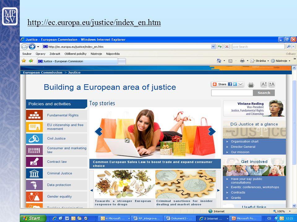 4 Kde hledat výzvy http://ec.europa.eu/social/main.jsp catId=987&langId=en