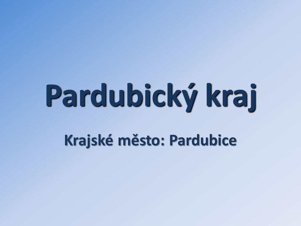 Pardubický kraj Krajské město: Pardubice