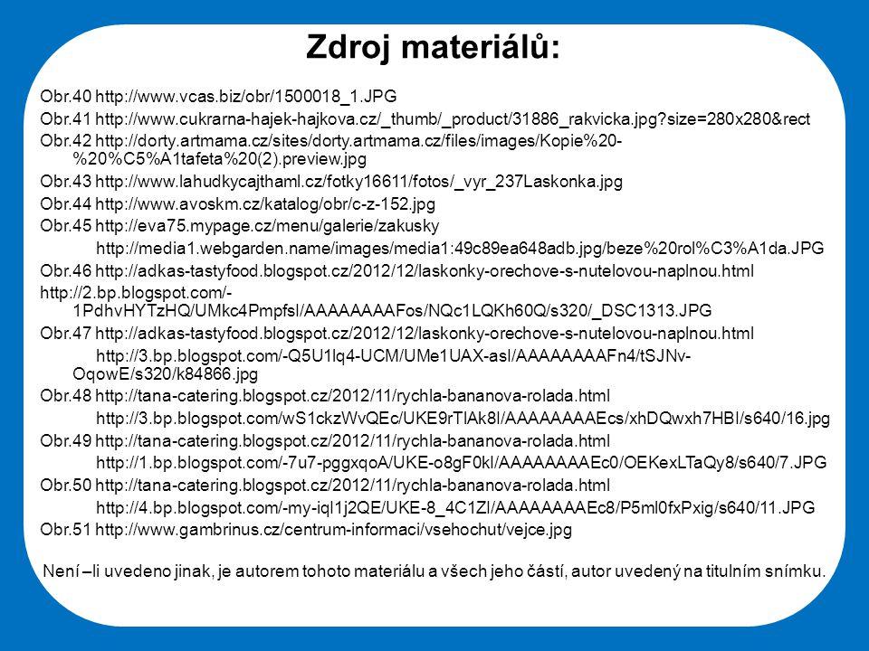 Střední škola Oselce Zdroj materiálů: Obr.40 http://www.vcas.biz/obr/1500018_1.JPG Obr.41 http://www.cukrarna-hajek-hajkova.cz/_thumb/_product/31886_r