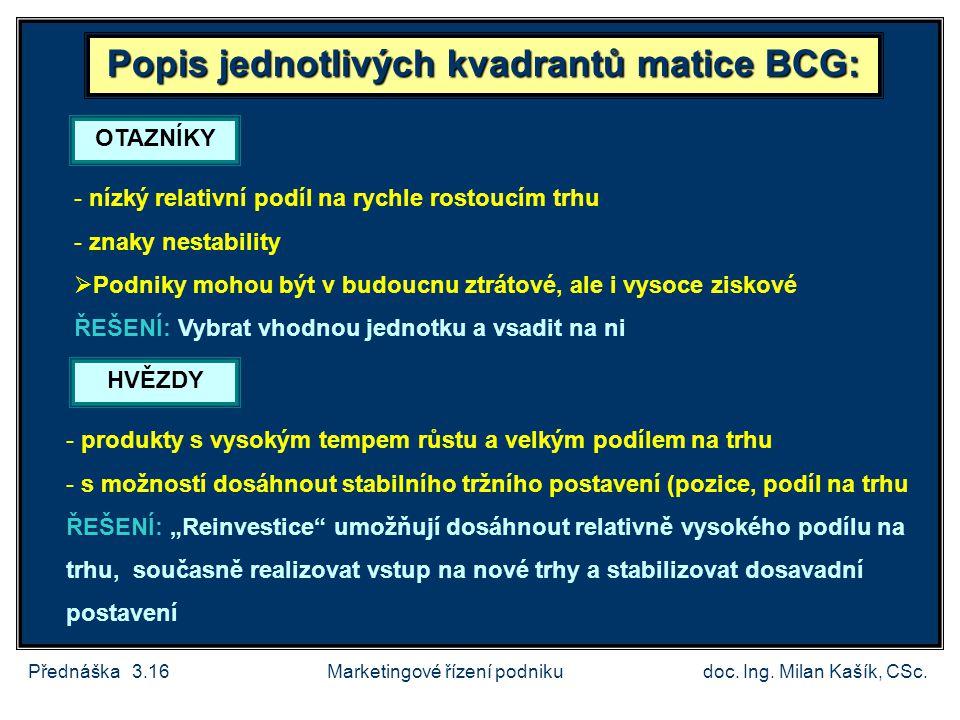 Přednáška 3.17doc.Ing. Milan Kašík, CSc.