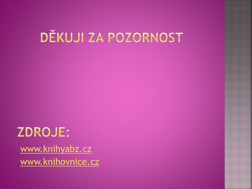 www.knihyabz.cz www.knihovnice.cz