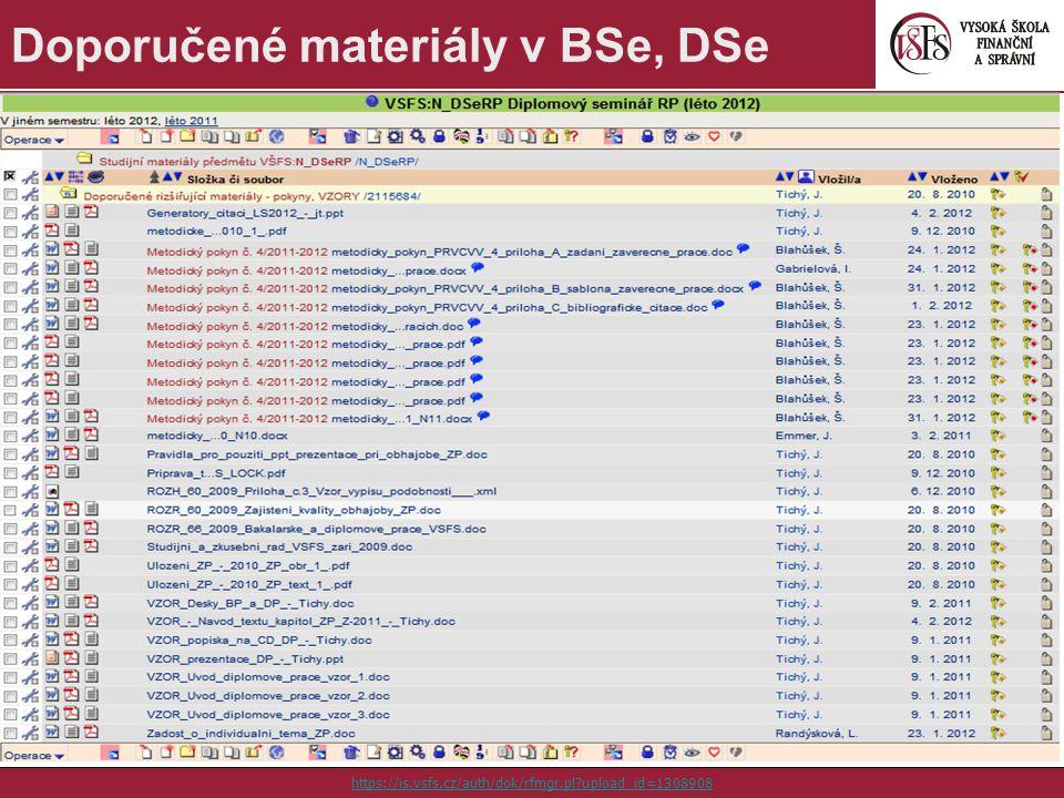10 Doporučené materiály v BSe, DSe https://is.vsfs.cz/auth/dok/rfmgr.pl?upload_id=1308908