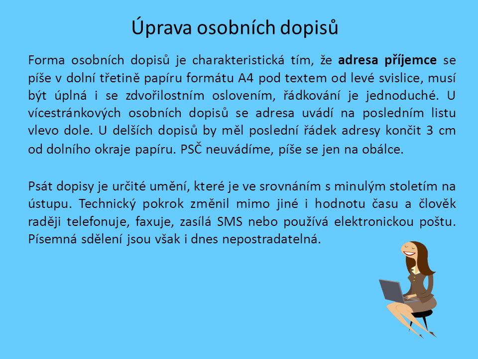 Ukázka osobního dopisu [1] Ing.Jan Kroupa ředitel IDO Děčín, a.s.