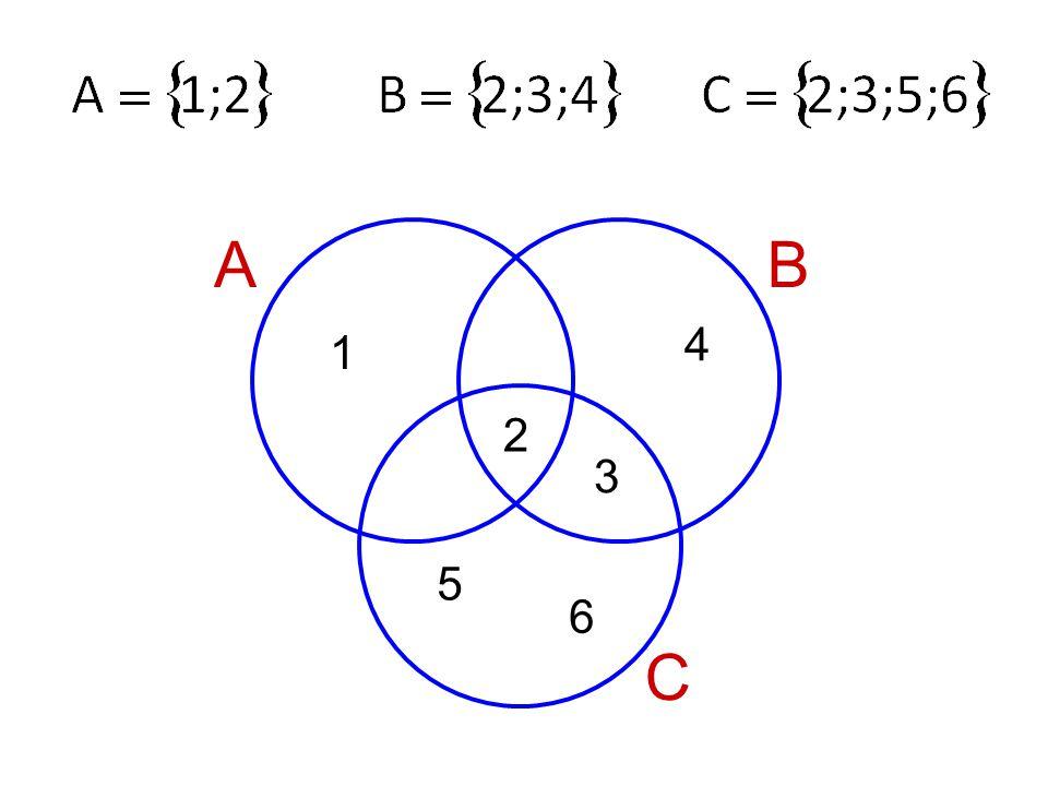 AB C 1 2 4 3 5 6