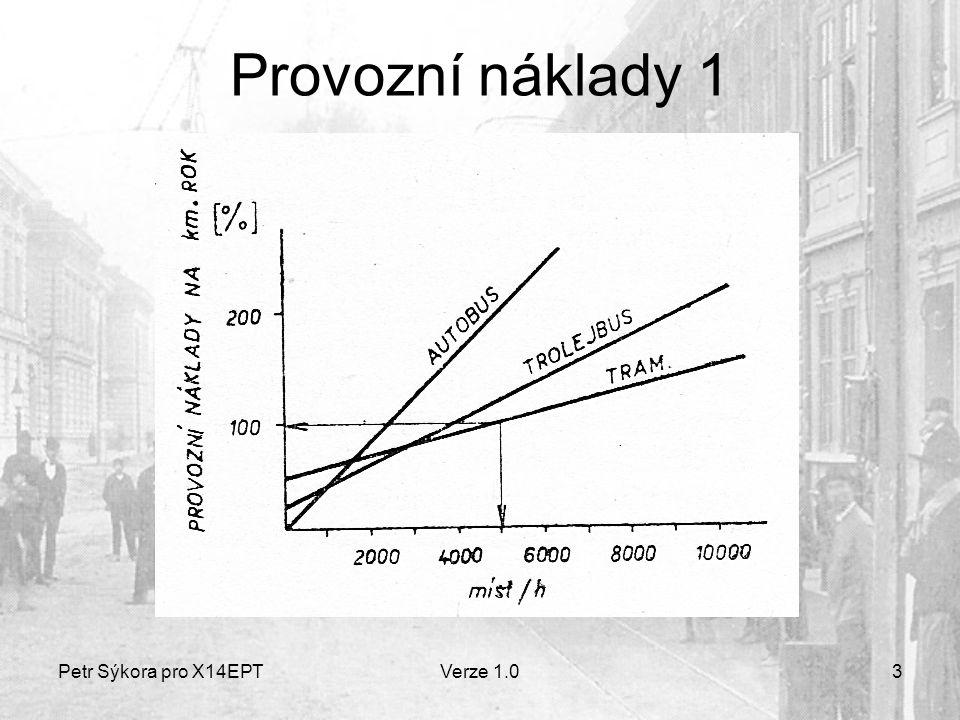 Petr Sýkora pro X14EPTVerze 1.03 Provozní náklady 1