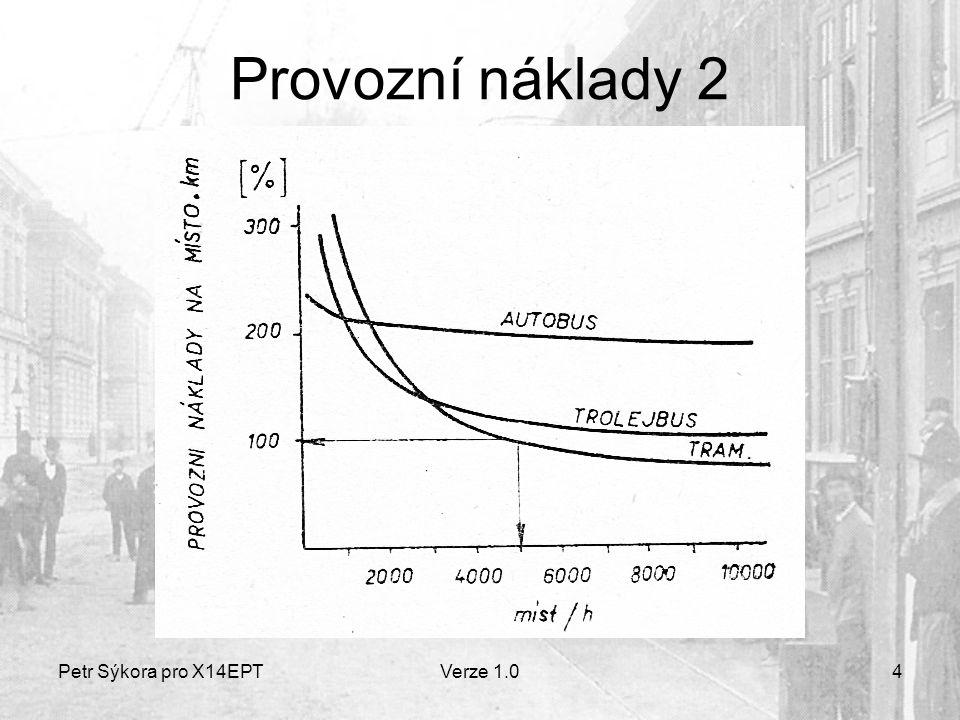 Petr Sýkora pro X14EPTVerze 1.04 Provozní náklady 2