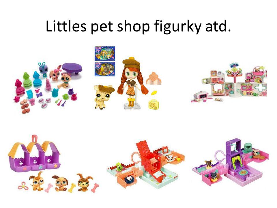 Littles pet shop figurky atd.