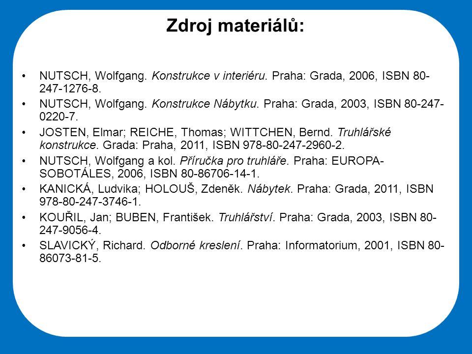 Střední škola Oselce Zdroj materiálů: NUTSCH, Wolfgang.