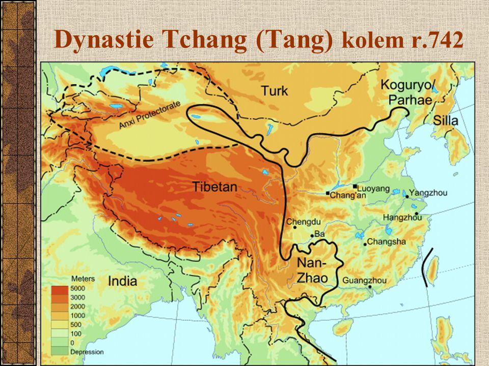 Dynastie Tchang (Tang) kolem r.742