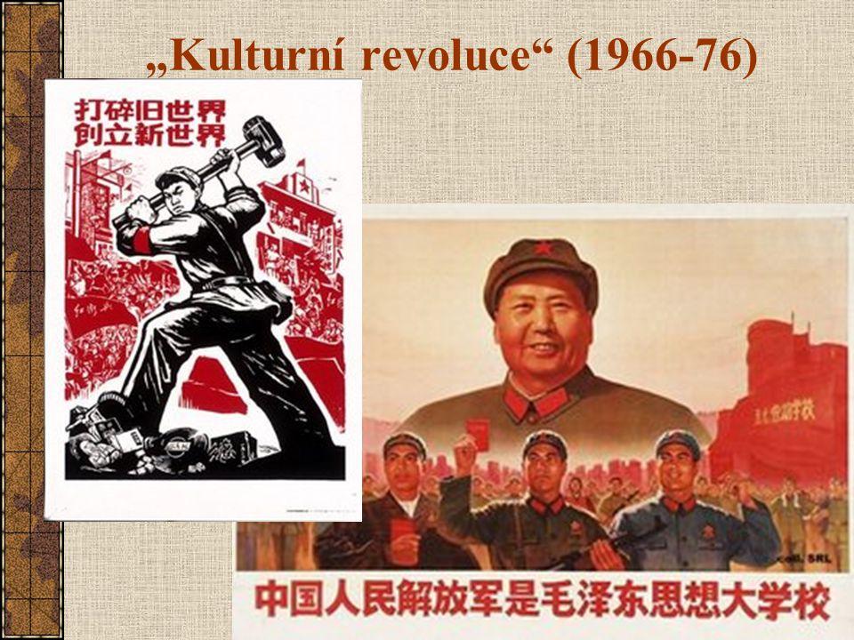 """""""Kulturní revoluce"""" (1966-76)"""