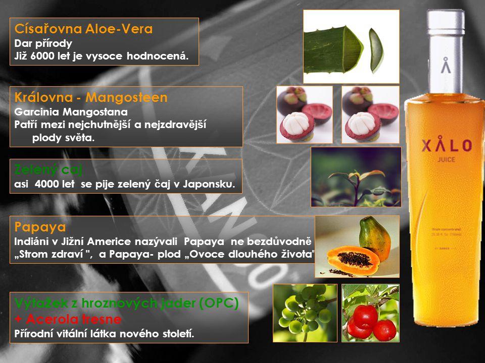 Císa ř ovna Aloe-Vera Dar p ř írody Ji ž 6000 let je vysoce hodnocen á.