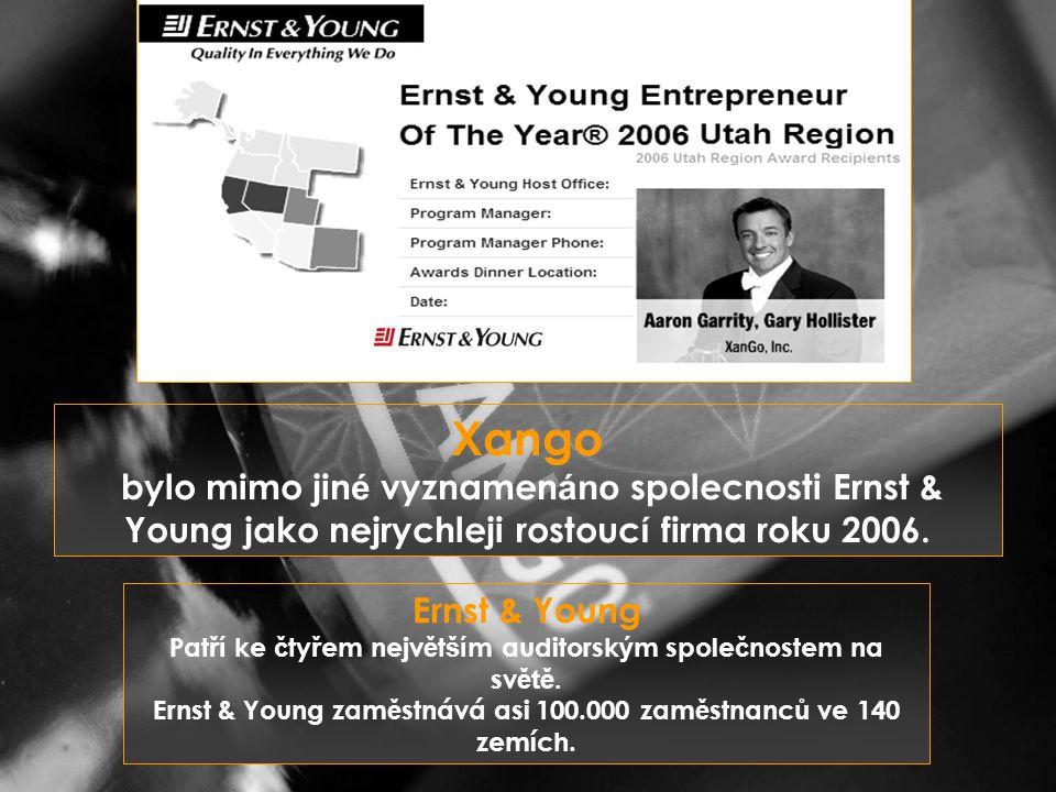Ernst & Young Pat ří ke č ty ř em nejv ě t ší m auditorsk ý m spole č nostem na sv ětě.