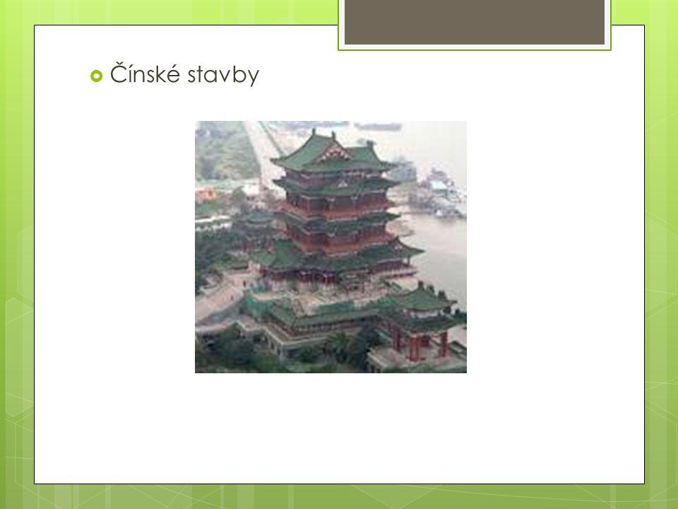  Čínské stavby