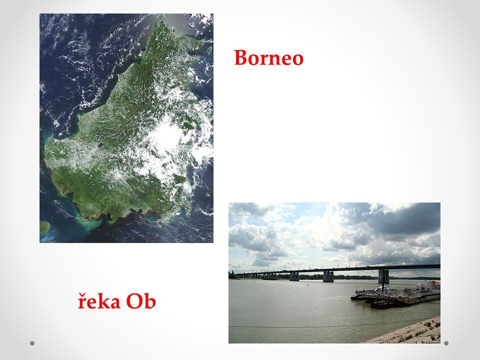 Borneo řeka Ob