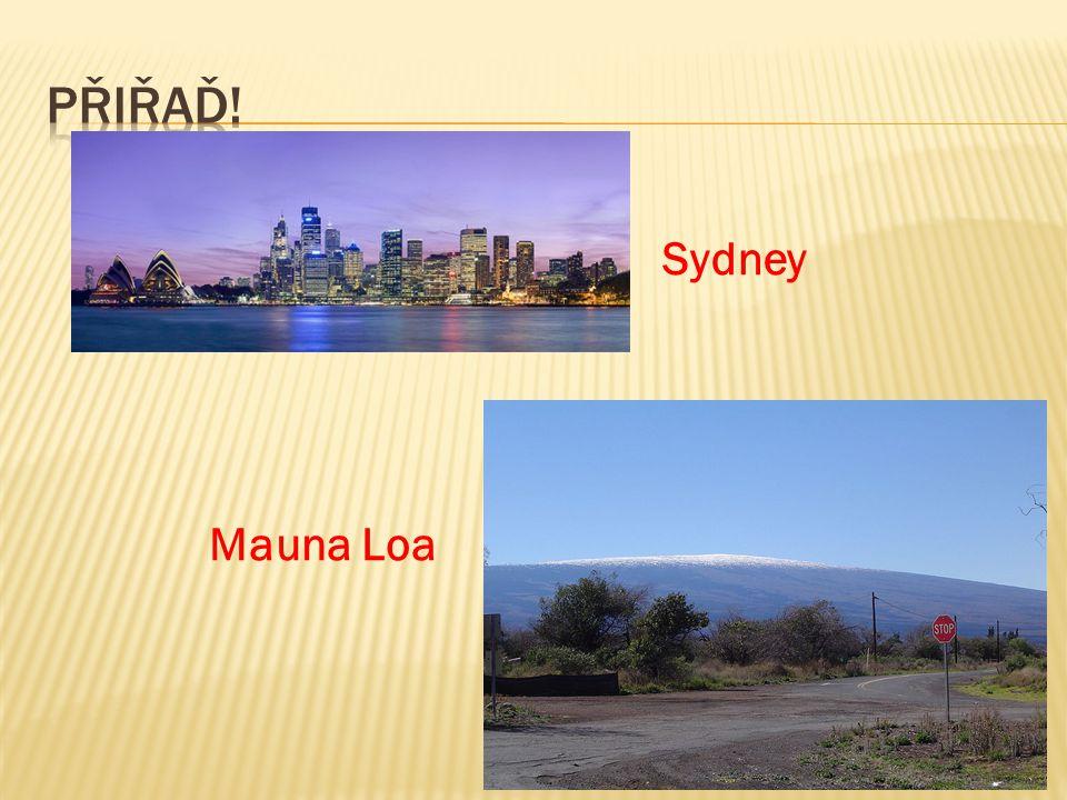Sydney Mauna Loa